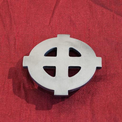 6d83d9881bbb Boucle de ceinture   Croix Celtique. – Terres-celtiques