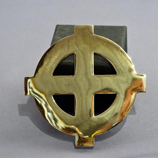 Boucle de ceinture   Croix Celtique – BRONZE. – Terres-celtiques 5e3a89252e2