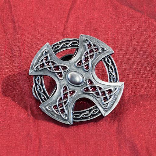 Boucle de ceinture   Croix Celtique ajourée avec entrelacs – Terres ... 98075e5010d