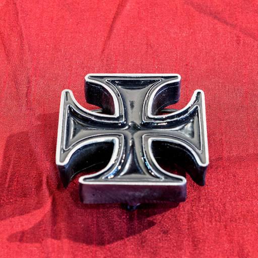 601c222e3946 Boucle de ceinture   Croix pattée noire ou croix de fer (épaisse ...