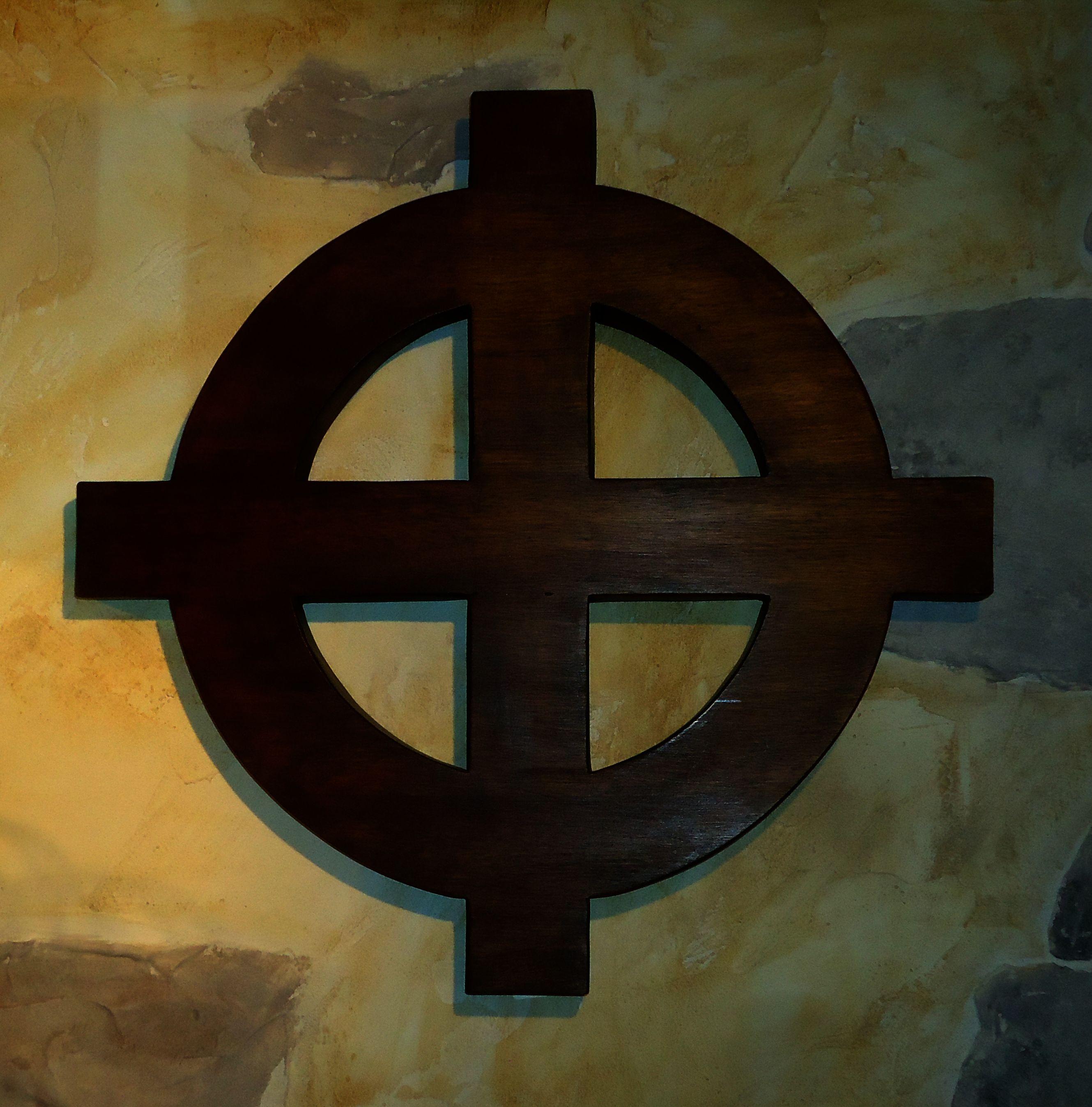 Croix celtique murale